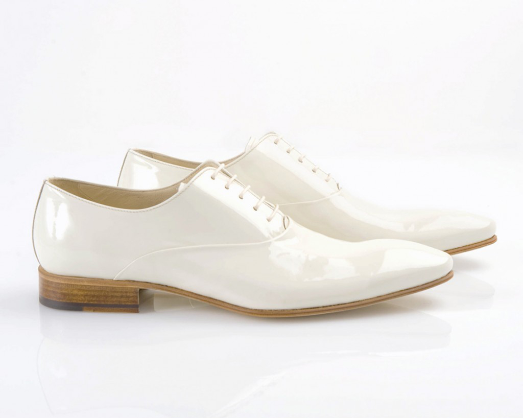 chaussure homme ivoire