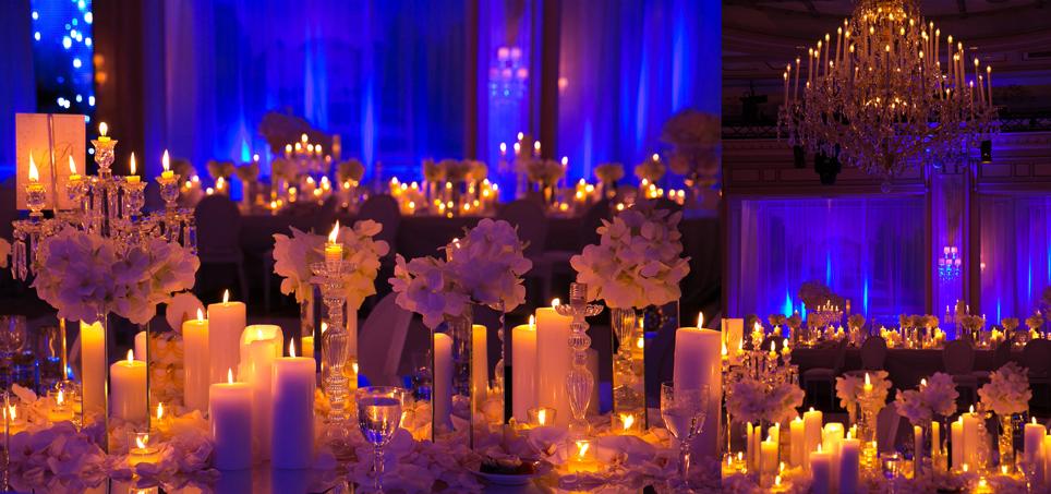 Salles de mariage - Deco bougie mariage ...