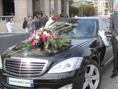 Voiture mariage Paris Best Way  Paris 75