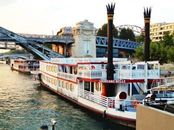 Le Louisiane belle pour la plus belle des réceptions sur la Seine à Paris