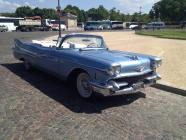 Cadillac bleu 1958 location mariage cady cruise paris 75