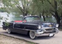Cadillac gris anthracite 1956 location mariage cady cruise paris