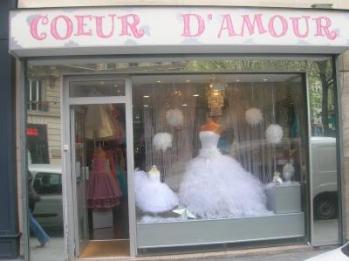 Boutique Coeur de mariée 75  le coup de  coeur pour votre robe de mariée est chez nous !