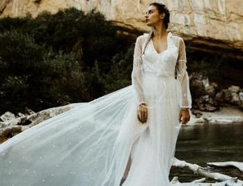 Elodie Courtat créatrice de robes de mariée dans le Val-d'Oise 95