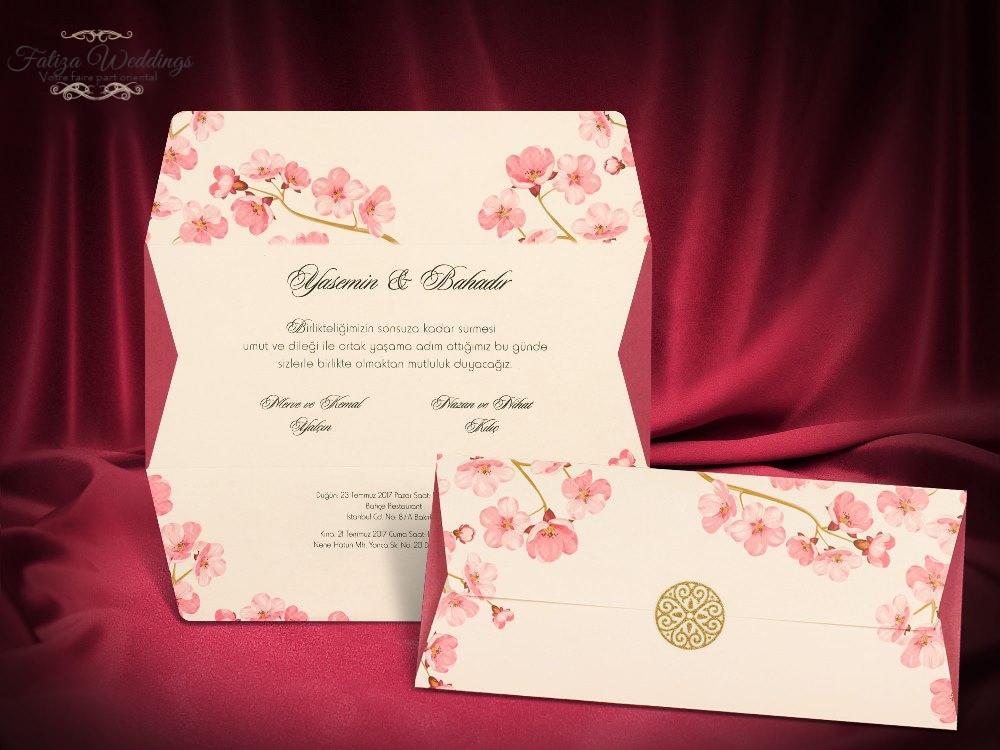 Lettre fleurie rose