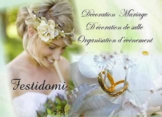 Festidomi presentation deco de mariage paris