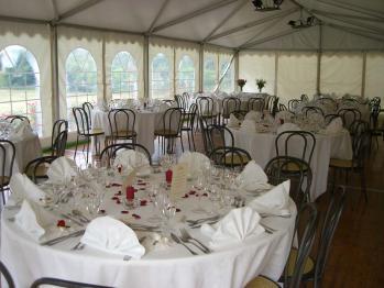 Accueil : Chapiteaux pour mariage à Paris