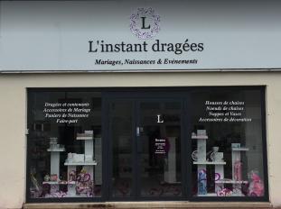 Vitrine boutique - L'instant Dragées - en Yvelines 78
