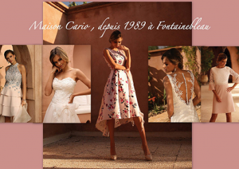 Maison Cario mariage :  Vente de robes de mariée à  fontainebleau 77