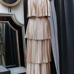 Longue robe du soir en lamé or Lanvin 1 800,00 €