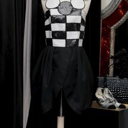 Robe courte du soir noir et blanche Louis Féraud, 1985-1990s 950,00 €