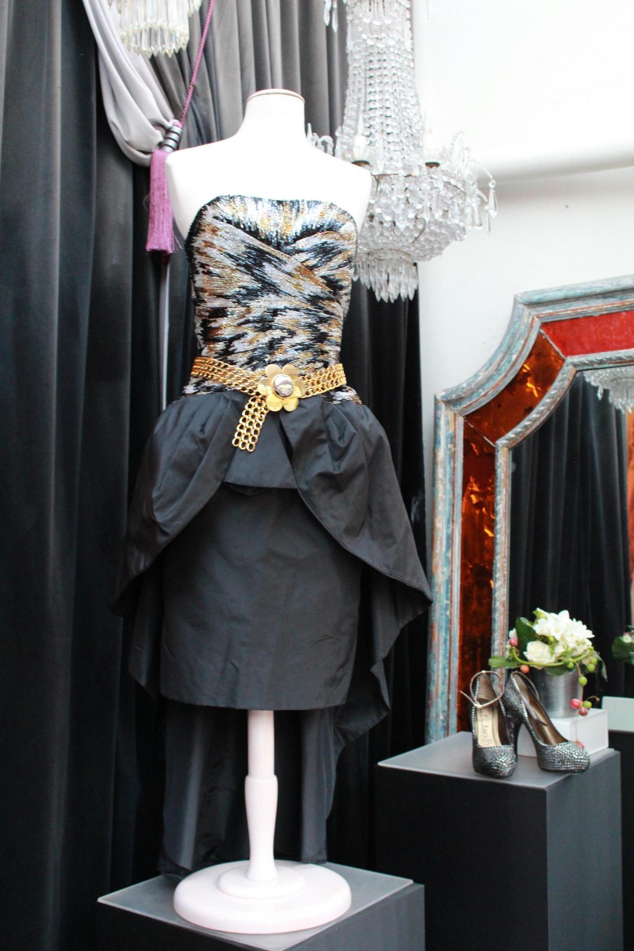 Robe de cocktail bustier Loris Azzaro