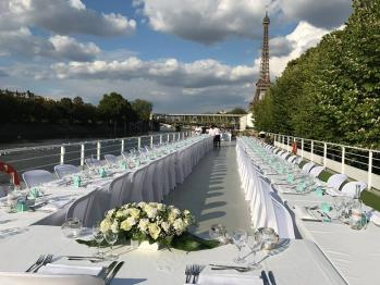 Le pus beau des mariages sur la Seine, avec Bateau mon Paris