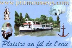 Bateau P'tit Mousse dans le Val-d'Oise 95