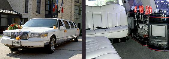 Photo majestic limo blanc 02